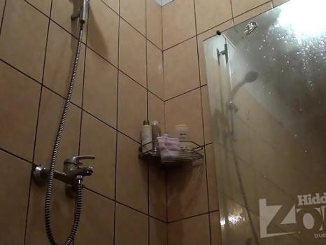 Hidden-Zone.com- Sh1396# Blonde wiped off right in front of the lens Hidden cam shower. It seems that to her pussy