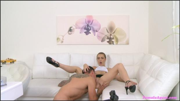 Fakehub.com- British studs fat long cock gives sexy agent a sticky facial
