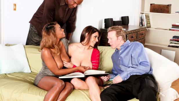 Adulttime.com- Interracial Swingers #04