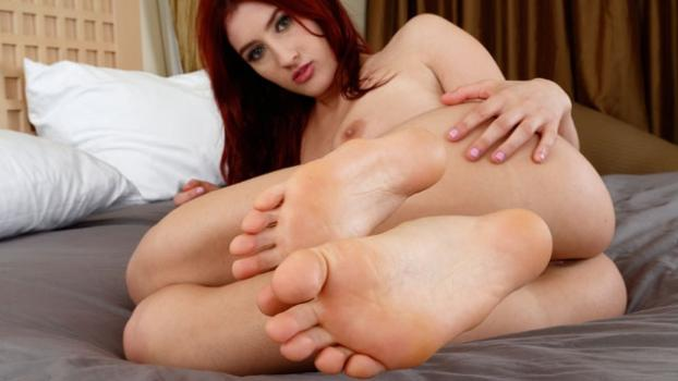 Footfetishdaily.com- Addison Ryder Living Photos