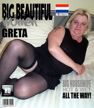 Mature.nl- Greta (48) - Dutch mature BBW fucking and sucking