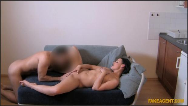 Fakehub.com- Cute Brunette Gets Filled To The Brim With Cock
