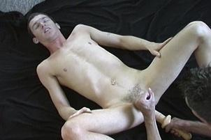 Awesomeinterracial.com- Gay Room-Mates Play With Big Toys