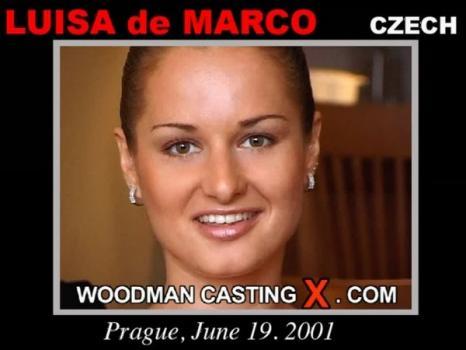 WoodmanCastingx.com- Luisa De Marco casting X