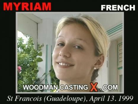 WoodmanCastingx.com- Myriam casting X