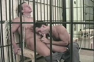 Awesomeinterracial.com- Gay Prisoners Pass the Time Swapping Spunk