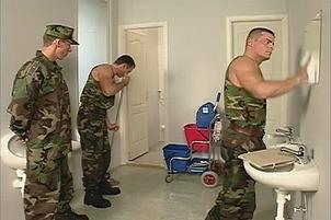 Awesomeinterracial.com- Soldiers At Work Get Hot With Some Gay Sex