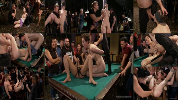 Kink.com- Lily LaBeau gets played in raunchy Pool Hall-Lily LaBeau, Bill Bailey, Isis Love