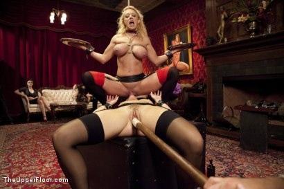 Kink.com- Anal House Slave Teaches Anikka Albrite to Service Cock