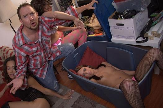 Wankz.com- Undercover Cop Joins In On College Sex Party HD