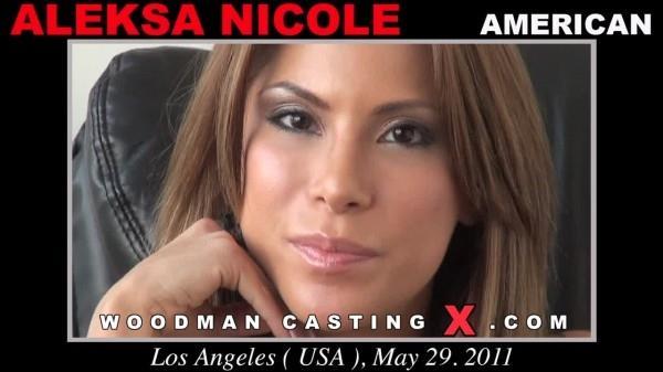 WoodmanCastingx.com- Aleksa Nicole casting X