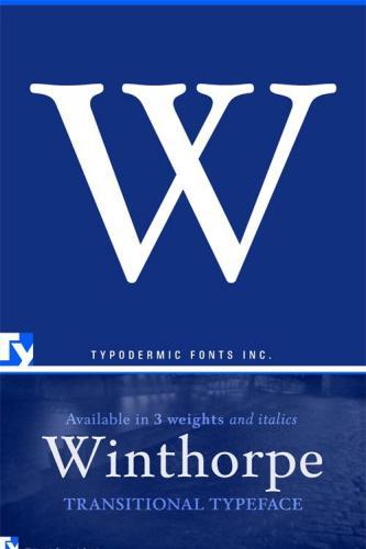 Winthorpe Font Family