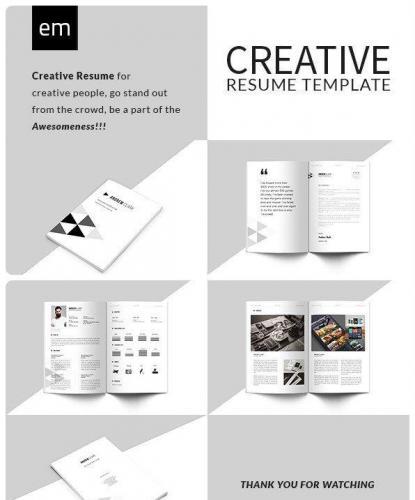 Creative Resume CV Portfolio