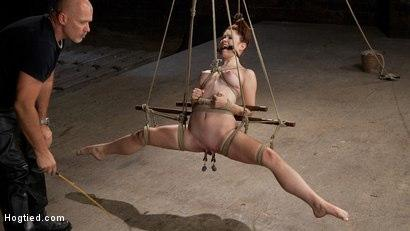Kink.com- Melody Jordan Contorted in Severe Rope Bondage