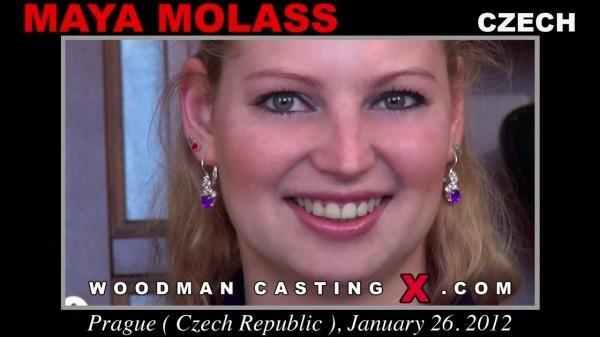 WoodmanCastingx.com- Maya Molass casting X