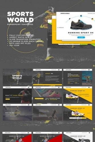 Sports World PowerPoint Templates