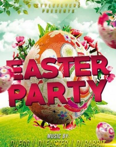 Easter V8 PSD Flyer Template with Facebook Cover