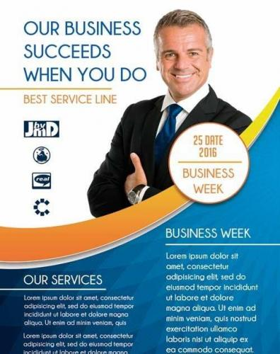 Business week PREMIUM Flyer