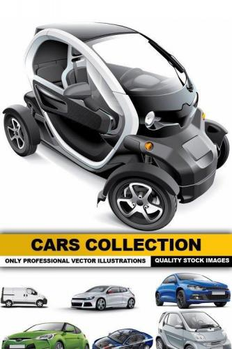 Cars Collection - 25 Vector