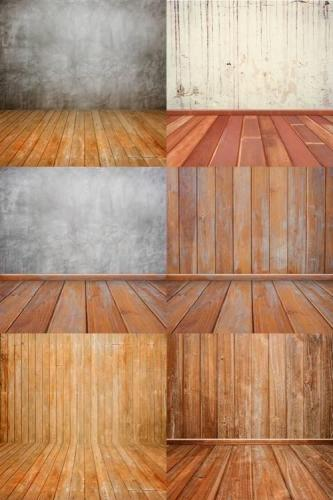 Background With Wood Floor