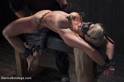 Kink.com- Blonde MILF Gets Devastated with Sensory Overload!!