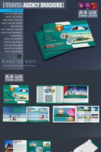Travel Agency Catalog - Brochure 654960