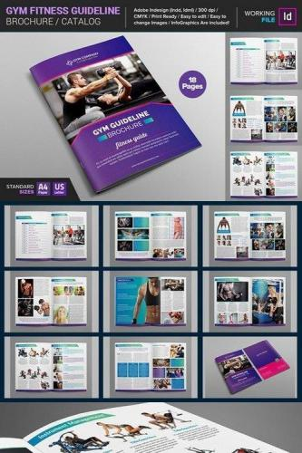 GYM Fitness Guideline Brochure