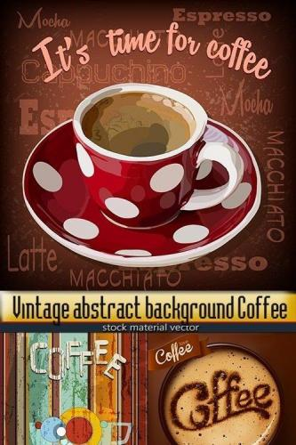 Vintage abstract background Coffee