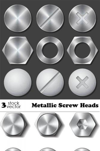 Metallic Screw Heads