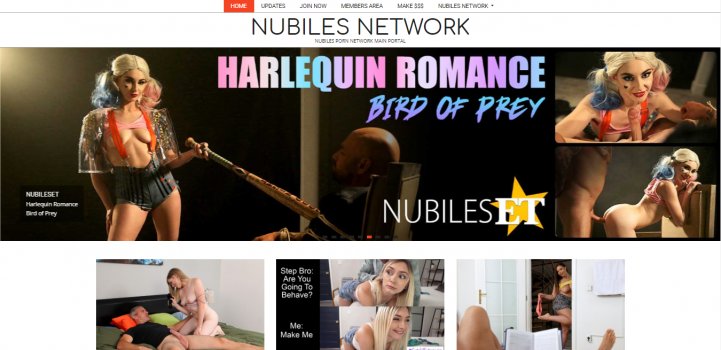 Nubiles Network May 2020 - SiteRip