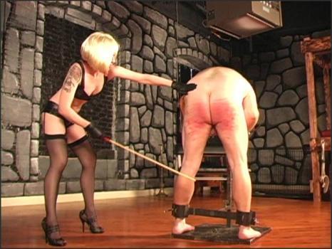 Clubdom.com- Cruel with the cane