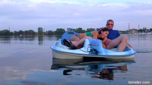 FullyClothedSex 18 08 23 Boats And Hoes Girl Blows Him Good On The Boat XXX 1080p MP4-KTR