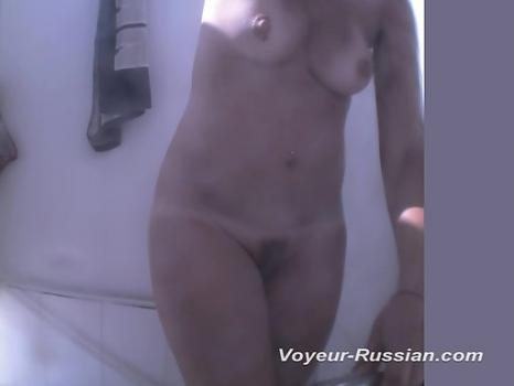 Hidden-Zone.com- Pv406# Pretty woman in a red bathing suit completely undressed and take a shower. Our operator is