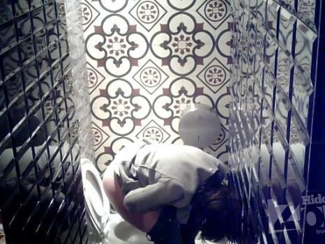 Hidden-Zone.com- Wc2289# Brunette in white panties pee standing up. Our cameraman filmed in the girls toilets hidde