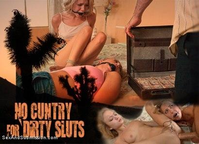 Kink.com- No Cuntry for Dirty Sluts-Carter Cruise, Dakota Skye, James Deen