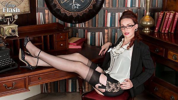 Vintageflash.com- Mistique - Corselette capers!
