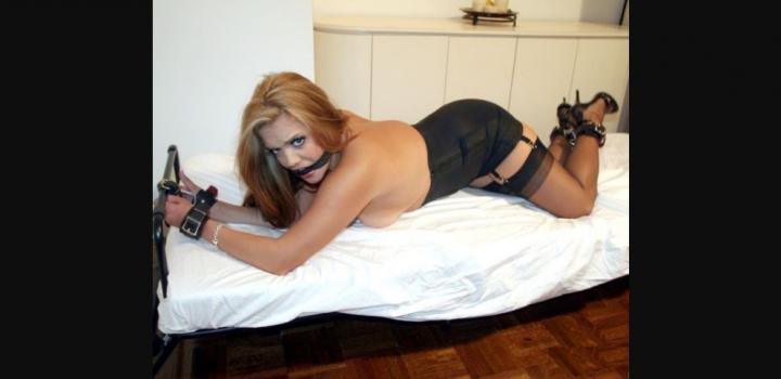 Bronxties.com- Darling Davina Cuffed