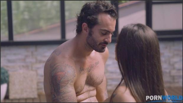 Legalporno.com- Spanish pornstar Susy Gala gets a gooey facial after hardcore sex poolside GP1404