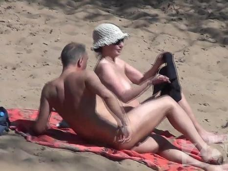 Hidden-Zone.com- Nu1859# Our camera is closely monitoring everything that happens on a nudist beach. The most interes