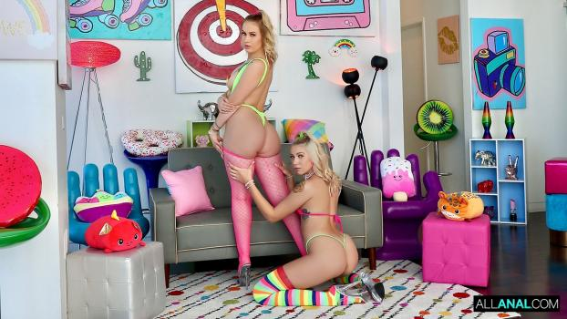 Allanal_com- Pink Cheek Perfection with Layla and Chanel