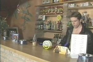 Awesomeinterracial.com- Bartender Fucks His Customer Over Stool