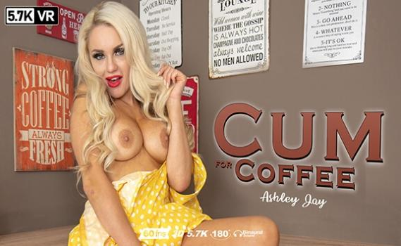 Vrporn.com- Cum For Coffee-Waiter Gets Just the Tip