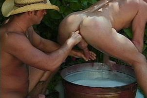 Awesomeinterracial.com- Giddy Up! Bath Time For Cum Cowboys