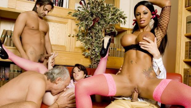 Smutpuppet.com- Kerry & Tiffany Group Sex