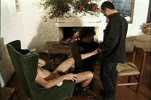 Awesomeinterracial.com- Dude Gets Sodomized By Four Hung Men
